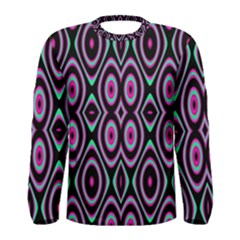 Colorful Seamless Pattern Vibrant Pattern Men s Long Sleeve Tee