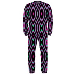 Colorful Seamless Pattern Vibrant Pattern Onepiece Jumpsuit (men)