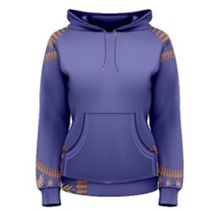 Frame Of Leafs Pattern Background Women s Pullover Hoodie