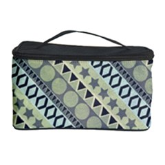 Abstract Seamless Background Pattern Cosmetic Storage Case