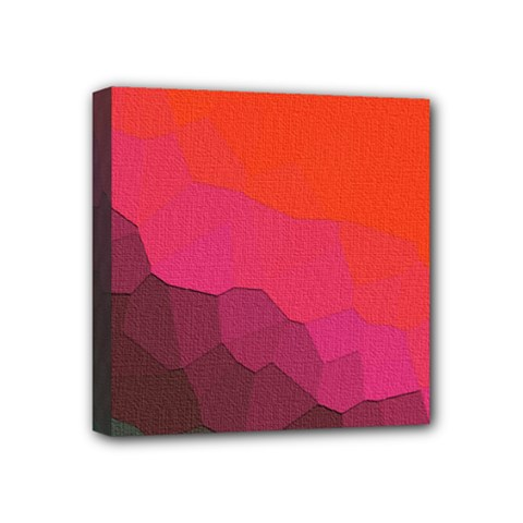 Abstract Elegant Background Pattern Mini Canvas 4  X 4