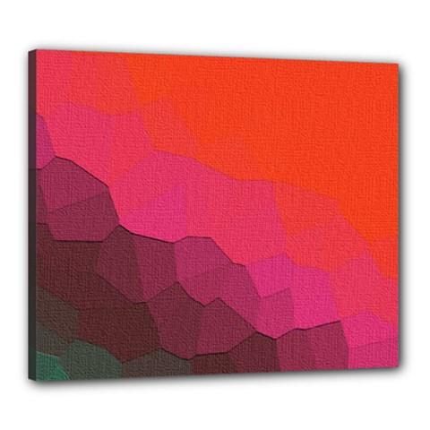 Abstract Elegant Background Pattern Canvas 24  X 20