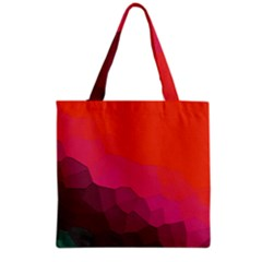 Abstract Elegant Background Pattern Grocery Tote Bag