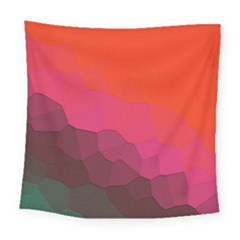 Abstract Elegant Background Pattern Square Tapestry (large)