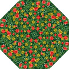Completely Seamless Tile With Flower Golf Umbrellas