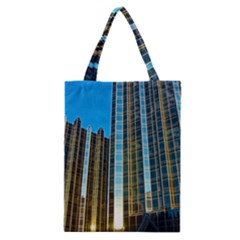 Two Abstract Architectural Patterns Classic Tote Bag