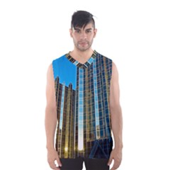Two Abstract Architectural Patterns Men s Basketball Tank Top