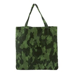 Camouflage Green Army Texture Grocery Tote Bag