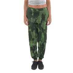 Camouflage Green Army Texture Women s Jogger Sweatpants