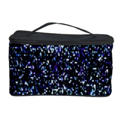Pixel Colorful And Glowing Pixelated Pattern Cosmetic Storage Case
