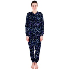 Pixel Colorful And Glowing Pixelated Pattern Onepiece Jumpsuit (ladies)