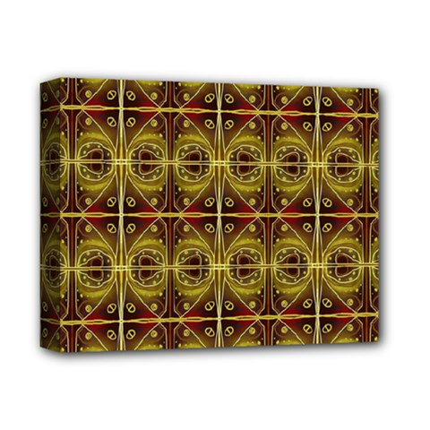 Seamless Symmetry Pattern Deluxe Canvas 14  x 11