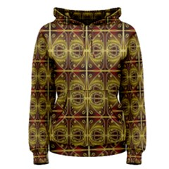 Seamless Symmetry Pattern Women s Pullover Hoodie