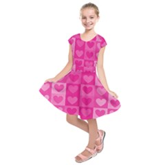 Pattern Kids  Short Sleeve Dress
