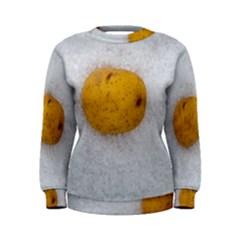 Hintergrund Salzkartoffel Women s Sweatshirt