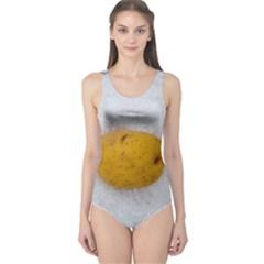 Hintergrund Salzkartoffel One Piece Swimsuit