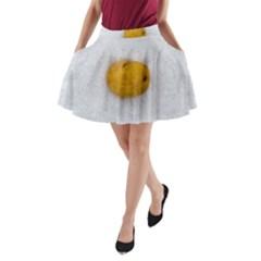 Hintergrund Salzkartoffel A Line Pocket Skirt