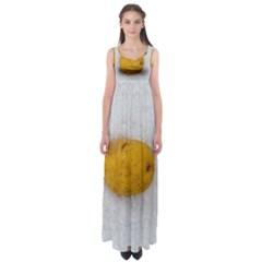 Hintergrund Salzkartoffel Empire Waist Maxi Dress