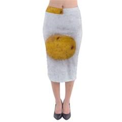 Hintergrund Salzkartoffel Midi Pencil Skirt