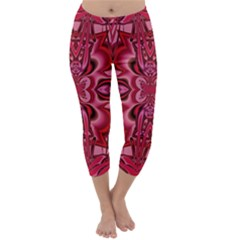 Secret Hearts Capri Winter Leggings