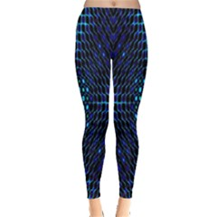 Vibrant Pattern Colorful Seamless Pattern Leggings