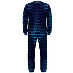 Vibrant Pattern Colorful Seamless Pattern OnePiece Jumpsuit (Men)