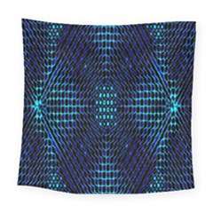 Vibrant Pattern Colorful Seamless Pattern Square Tapestry (large)