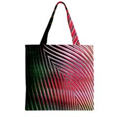 Watermelon Dream Zipper Grocery Tote Bag