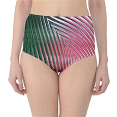 Watermelon Dream High-Waist Bikini Bottoms