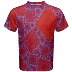 Voronoi Diagram Men s Cotton Tee
