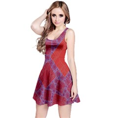 Voronoi Diagram Reversible Sleeveless Dress