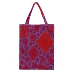 Voronoi Diagram Classic Tote Bag