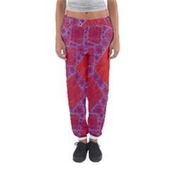 Voronoi Diagram Women s Jogger Sweatpants