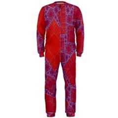 Voronoi Diagram OnePiece Jumpsuit (Men)
