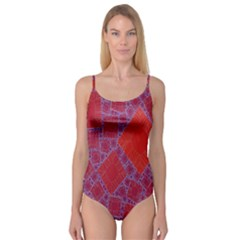 Voronoi Diagram Camisole Leotard