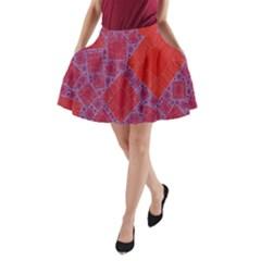 Voronoi Diagram A Line Pocket Skirt