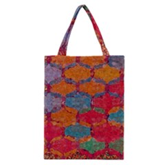 Abstract Art Pattern Classic Tote Bag