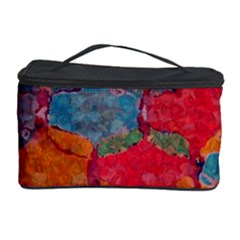 Abstract Art Pattern Cosmetic Storage Case