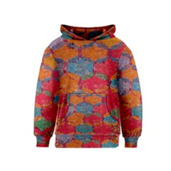 Abstract Art Pattern Kids  Pullover Hoodie