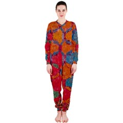 Abstract Art Pattern OnePiece Jumpsuit (Ladies)