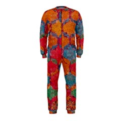 Abstract Art Pattern Onepiece Jumpsuit (kids)