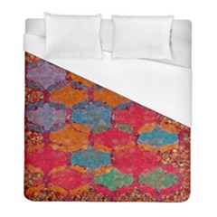 Abstract Art Pattern Duvet Cover (full/ Double Size)