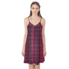 Colorful And Glowing Pixelated Pixel Pattern Camis Nightgown