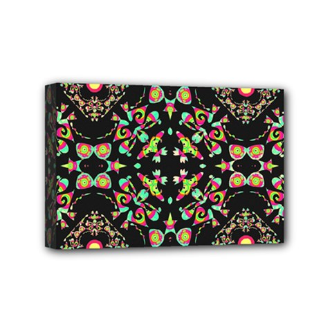 Abstract Elegant Background Pattern Mini Canvas 6  x 4