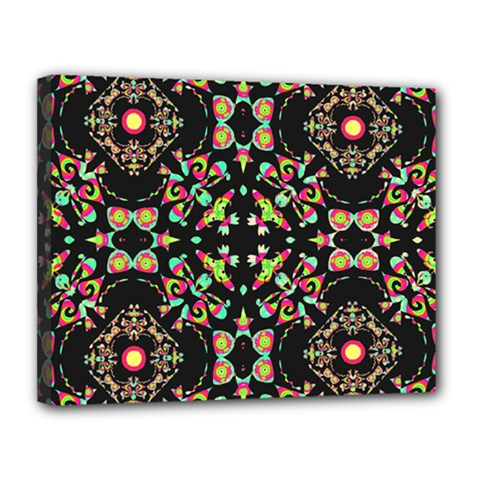 Abstract Elegant Background Pattern Canvas 14  x 11