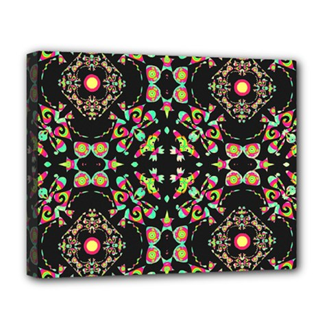 Abstract Elegant Background Pattern Deluxe Canvas 20  x 16
