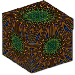 Vibrant Colorful Abstract Pattern Seamless Storage Stool 12