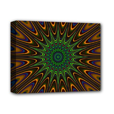 Vibrant Colorful Abstract Pattern Seamless Deluxe Canvas 14  x 11