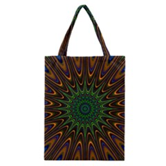 Vibrant Colorful Abstract Pattern Seamless Classic Tote Bag