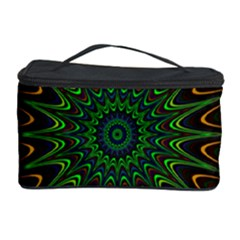 Vibrant Colorful Abstract Pattern Seamless Cosmetic Storage Case